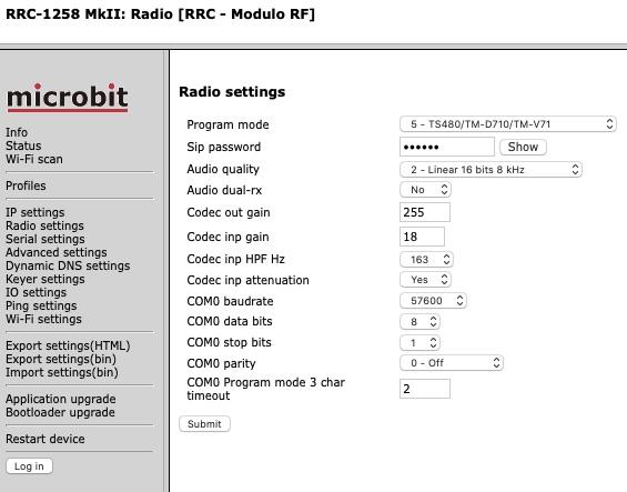 RRC-RadioSettings